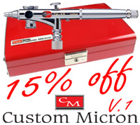 15% off Version 1 Custom Microns