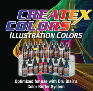 New Createx Illustration Colors