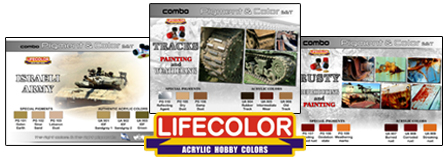 New LifeColor Combo Pigment and Acrylic Colour sets