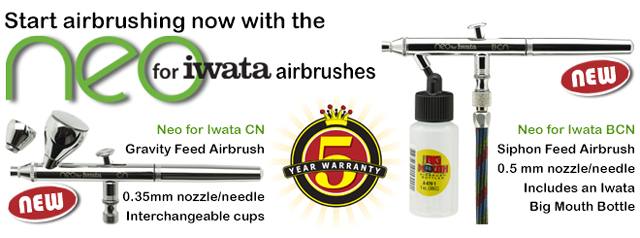 Neo for Iwata airbrushes