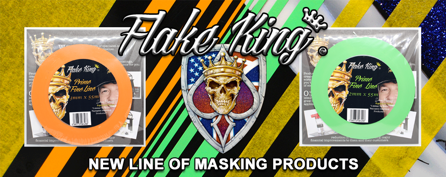 Flake King Fine-Line Tapes