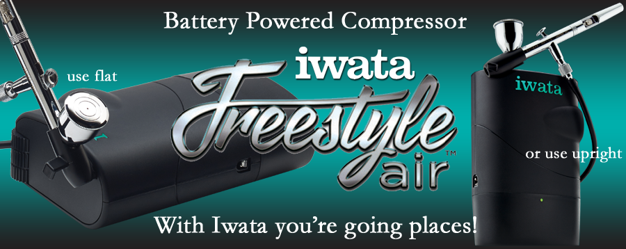 Iwata Freestyle Air battery-powered compressor