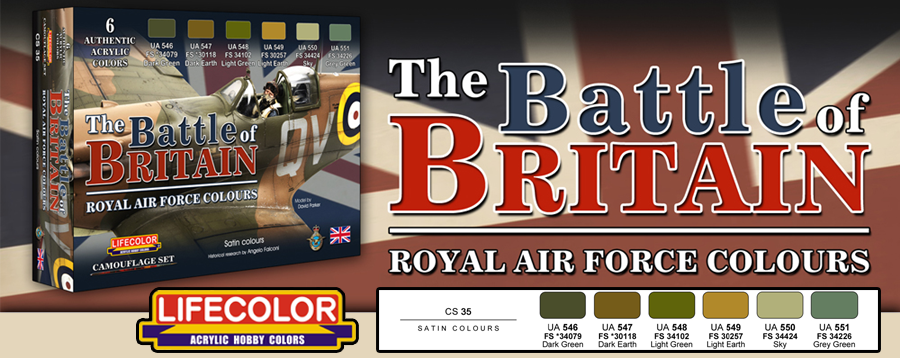 New LifeColor Battle of Britain Set